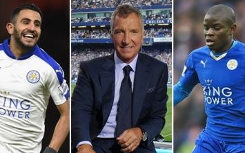 Graeme Souness appears to be trolling Leicester fans with his Team of the Year