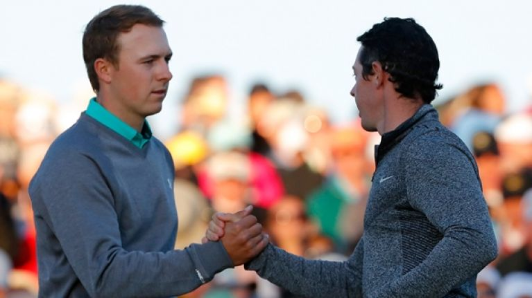 """Rory McIlroy admits frustration with """"annoying"""" Jordan Spieth"""
