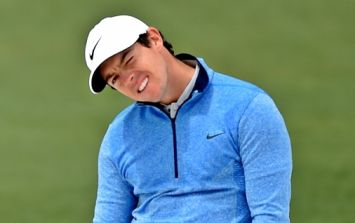 Not even a pep talk from a football legend could inspire Rory McIlroy to Masters glory