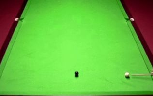 WATCH: Snooker player's despondent reaction as he botches SECOND 147 break on the black