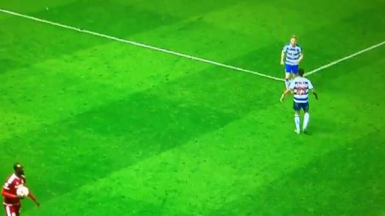 WATCH: Very heated moment between Paul McShane and teammate during dramatic Reading loss