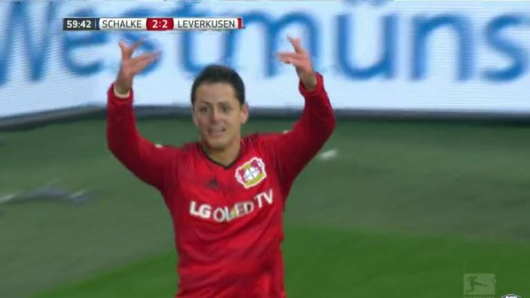 VIDEO: Javier Hernandez finishes devastating counter attack to seal brilliant Bayer Leverkusen comeback