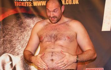 Tyson Fury takes to Instagram to detail his impressive training camp weight loss