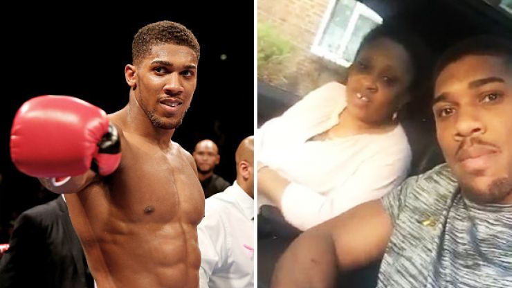Anthony Joshua surprises his mum with a brand new €100,000 Range Rover