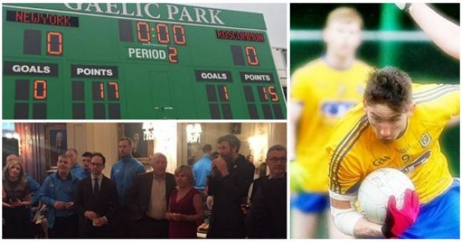 Roscommon's trip to New York earned them a serious wad of American dollars
