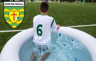 GAA club team takes ice baths to a whole new level on the hills of Donegal