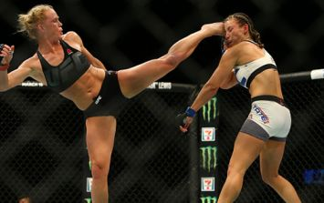 Holly Holm's next fight has been confirmed and it doesn't make a whole lot of sense, but who cares?