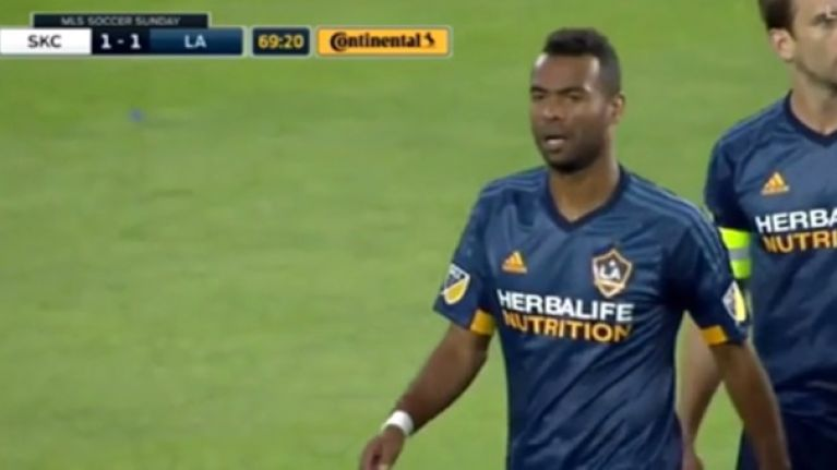 VIDEO: Ashley Cole sent off for two yellows in stupid, rapid and completely avoidable style