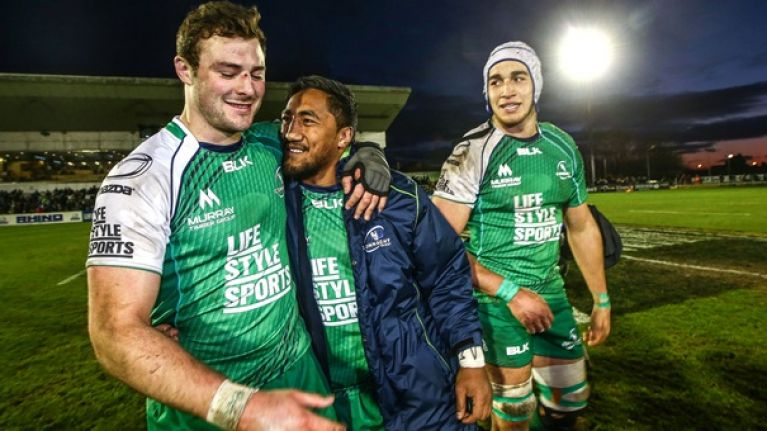PIC: Robbie Henshaw is sending Bundee Aki after the thieves who broke into his car
