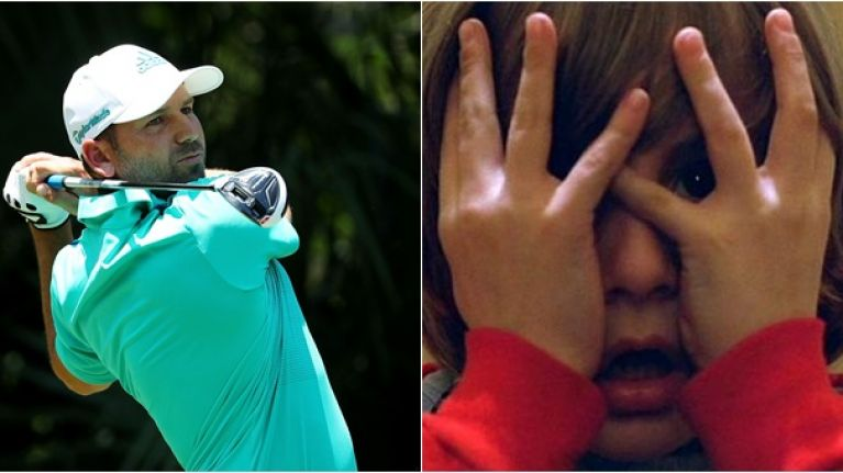VIDEO: You'll have to watch Sergio Garcia's putting nightmare through your fingers