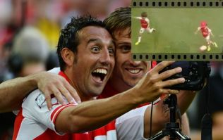 VIDEO: Santi Cazorla's son is probably much better than you at football