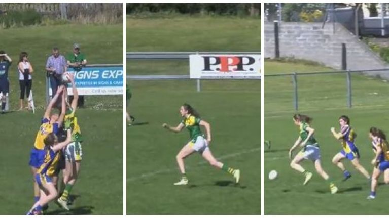 Leitrim ladies footballer betters Kerry star's solo goal with rasper of her own
