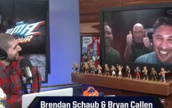 VIDEO: Joe Rogan gatecrashed the MMA Hour and it was absolutely glorious