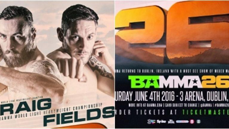 BAMMA 26 postponed as Ireland finally gets serious on MMA legislation
