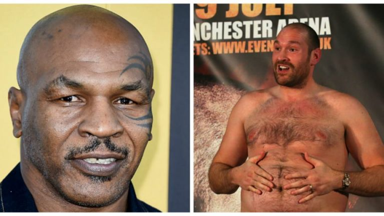 Mike Tyson comes out in support of Tyson Fury