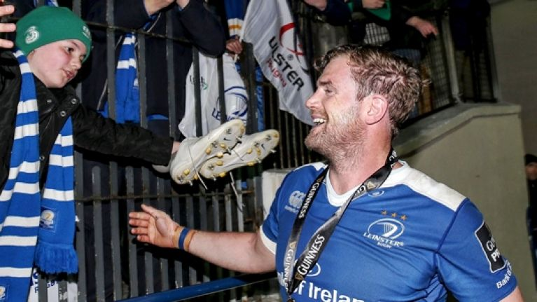 Jamie Heaslip's post-match words second only to epic semi-final deeds