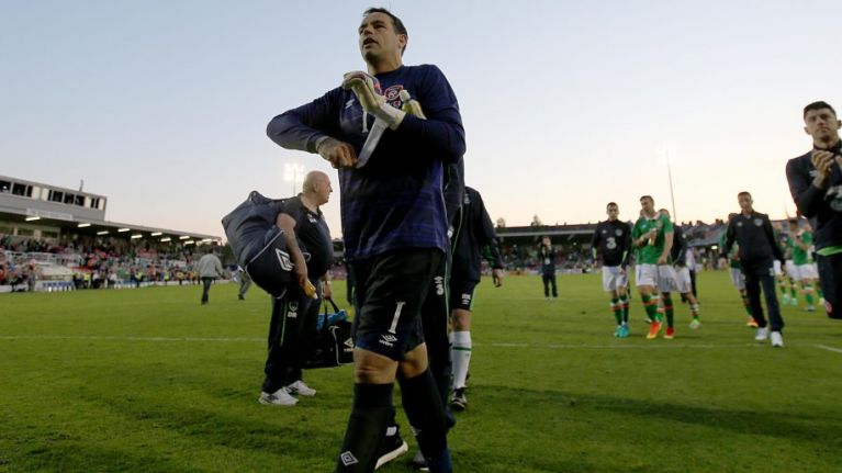 David Forde's reaction to being dropped from the squad speaks volumes about the man