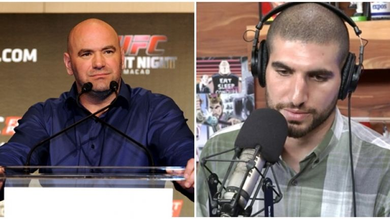 Dana White says Ariel Helwani can attend UFC 200 on one condition