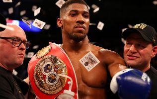 This is Anthony Joshua's power-packed 1,000 calorie breakfast