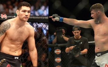 Chris Weidman fails miserably trying to beat Michael Bisping at his own game