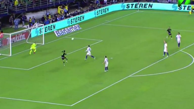 WATCH: Javier Hernandez's stunning winner against Chile was a very familiar sight