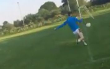 WATCH: Down teenager sets trick-shot standard with ridiculous display of accuracy