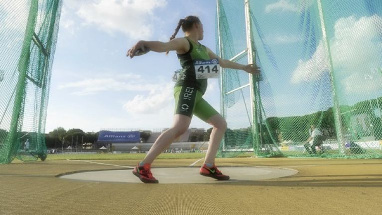 Cork's Noelle Lenihan sets new World Record and wins gold at IPC Athletics European Championships