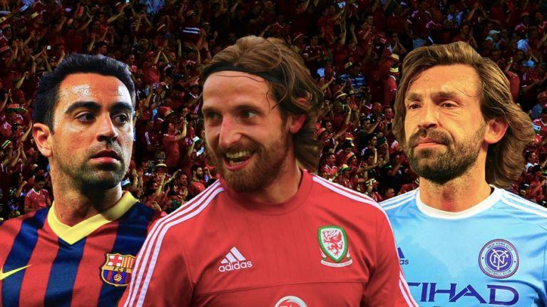 Joe Allen appreciation day is in full swing following historic Welsh win