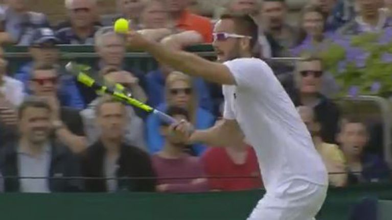 WATCH: Almost comically manic meltdown seen at Wimbledon