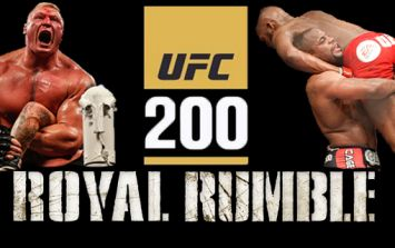Who would be victorious if UFC 200 was a Royal Rumble-style event?