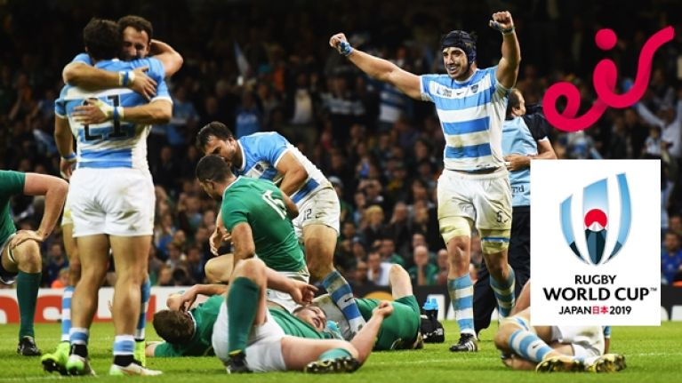 You'll now have to watch Ireland reach the Rugby World Cup quarter-final on a whole new channel