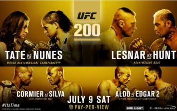 UFC 200: SportsJOE picks the winners so you don't have to