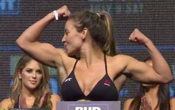 Head coach explains why Miesha Tate's weigh-in went right down to the wire