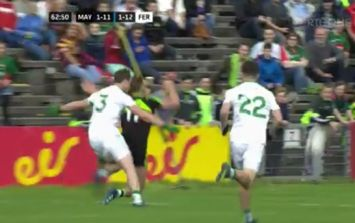 People are seriously pissed off with Aidan O'Shea's 'dive' to win a penalty