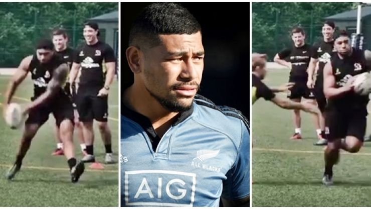 WATCH: Charles Piutau introduces himself, and side-steps, to Ulster teammates