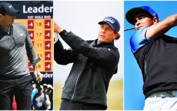 Phil Mickelson bosses The Open as Rory McIlroy clings on