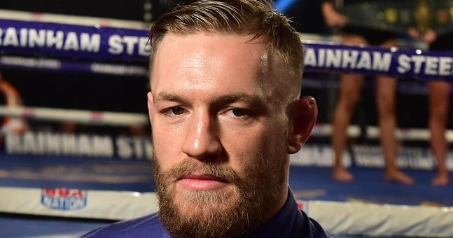 Conor McGregor applies to register three trademarks to protect his brand