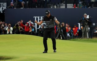 Henrik Stenson lifts the Claret Jug after quite possibly the greatest final round in major championship history