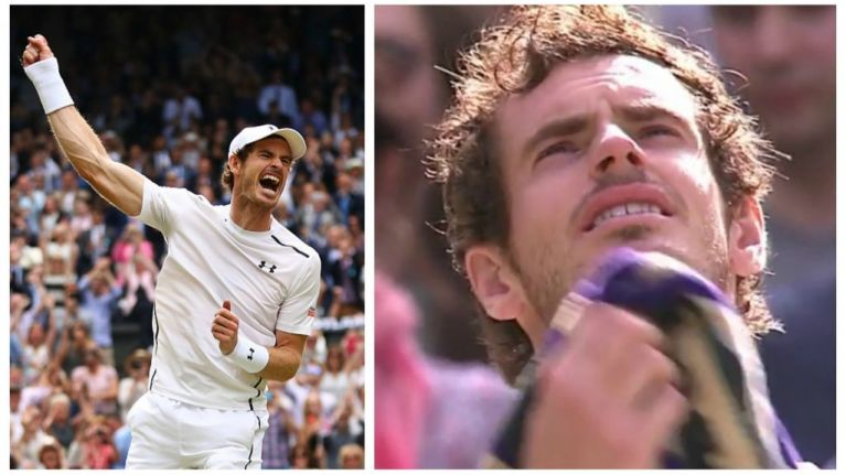 Tearful Andy Murray can't keep a lid on his emotions after Wimbledon win