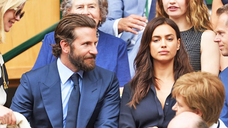 Bradley Cooper was definitely in the doghouse with Irina Shayk at Wimbledon