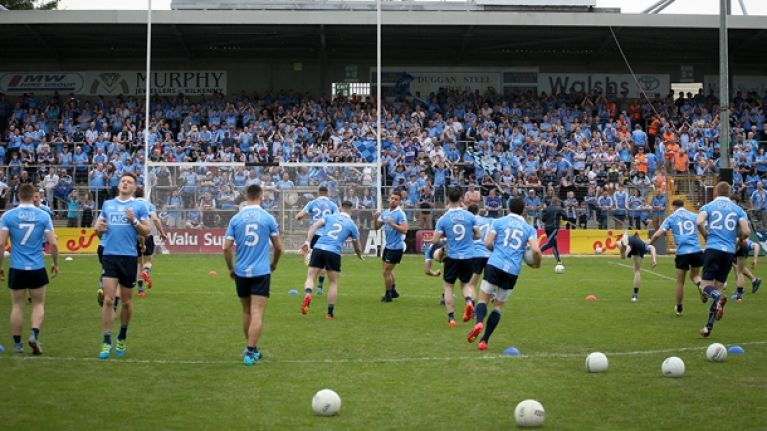 The 17 people you'll find in every single GAA warm-up