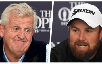 Shane Lowry will be dreaming of Offaly glories while poor Monty is up and out in a sh***y Open group