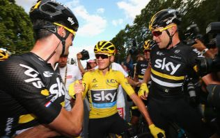 WATCH: Triple Tour Champion Chris Froome pays tribute to victims of Nice attacks in emotional victory speech