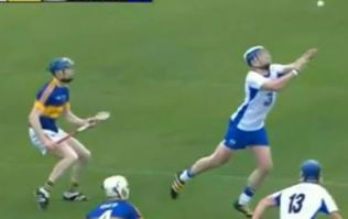 WATCH: Waterford produce arguably the greatest hurling assist ever during Munster U21 final