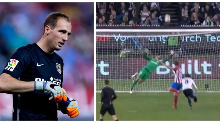 Watch Jan Oblak channel his inner David De Gea with incredible reaction save against Spurs