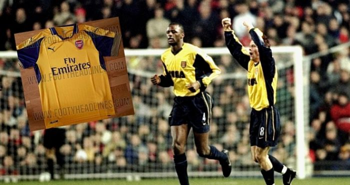 official photos 92bfd 46e0d Arsenal's leaked away kit is a glorious throwback to a ...