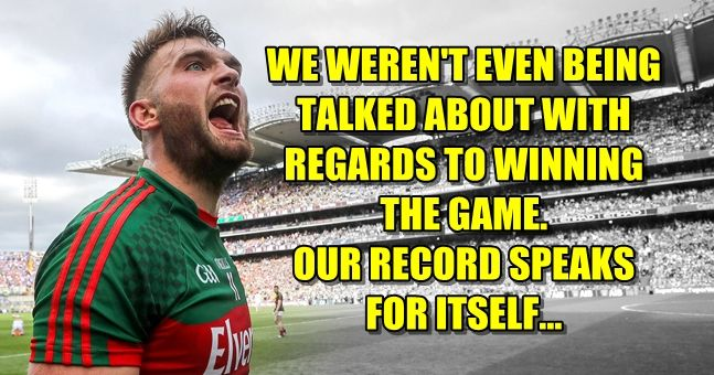 """LISTEN: Aidan O'Shea opens up on sledging, """"diving"""" and the respect Mayo are owed"""