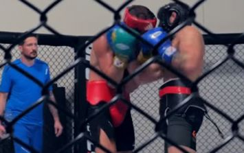 WATCH: Conor McGregor spars with six-time All-Ireland champion boxer Conor Wallace in preparation for Nate Diaz rematch