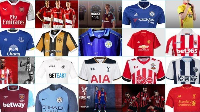 promo code 13b51 f6ab2 The definitive 2016/17 Premier League kit ranking | SportsJOE.ie