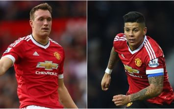 Report: Phil Jones' Manchester United future could be in doubt as Marcos Rojo rejects move